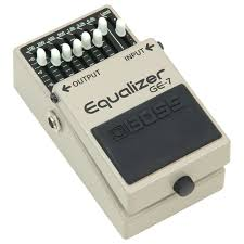 Boss Bass Equalizer pedal