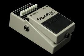 Boss GE-7 EQ pedal