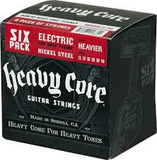 Dunlop Heavy Core Electric Strings Ben Bruce