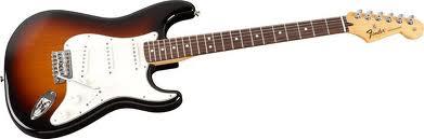 Fender Standard Stratocaster Gitar Ben Bruce
