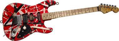 Frankenstein Guitar edie van helen