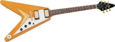Gibson 1958 Korina wood Flying V van halen