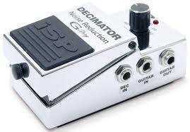 ISP Decimator pedal synister efek