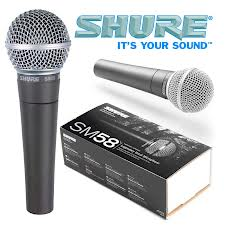 Live Vocal mic Shure SM58