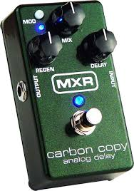 MXR Carbon Copy Delay synister efek
