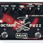 MXR Slash Octave Fuzz Guitar Effects Pedal