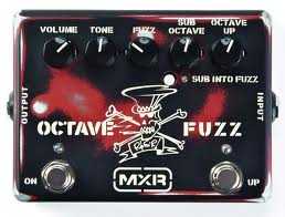 MXR Slash Octave Fuzz Guitar Effects Pedal