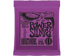Perlengkapan Slash Ernie Ball Power Slinky RPS 11-48 strings