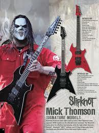 Spesifikasi Ibanez MTM-10 Gitar Mick Thomson Slipknot