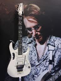 gitar Ibanez JEM-EVO Steve Vai Relic Signed