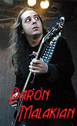 Daron Malakian Equipment