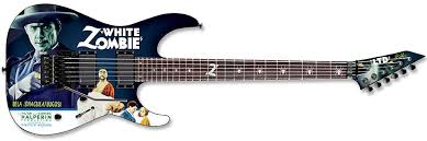 ESP LTD Kirk Hammett White Zombie