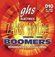 GHS Zakk Wylde Boomers Electric Guitar Strings