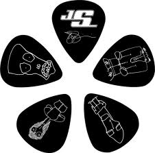 JS Signature Guitar Picks