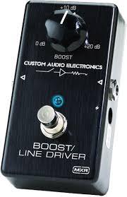 MXR line driver boost