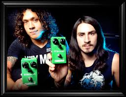 Maxon OD808 Overdrive Pedal, Efek Gitar Gitaris As I Lay Dying