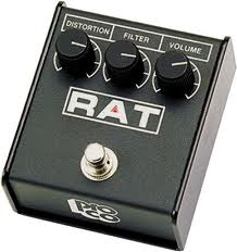 Rat distortion pedals