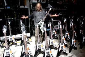 Spesifikasi Gibson Custom Kirk Hammett Flying V (Gitar Kirk Hammett)