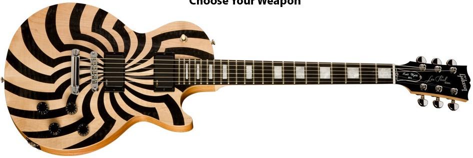 Spesifikasi Gibson Zakk Wylde Les Paul BFG Gitar Zakk Wylde