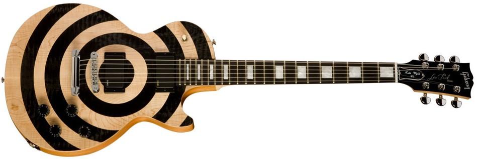 Spesifikasi Gibson Zakk Wylde Les Paul BFG (Gitar Zakk Wylde)