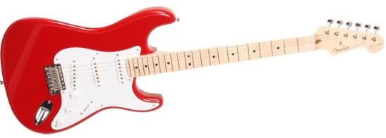 Spesifikasi Gitar Fender Stratocaster Eric Clapton Signature red