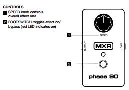 Spesifikasi MXR Phase 90 M 101