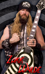 Zakk Wylde equipment