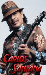 carlos santana equipment