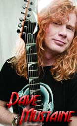 dave mustaine equipment