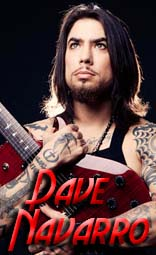 dave navarro equipment