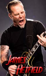 james hetfield equipment