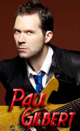 paul gilbert equipment