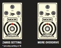 setting Dunlop MXR ZW44 Berzerker Overdrive (Efek Gitar Zakk Wylde)