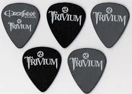 trivium guitar pick