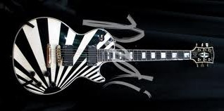 Gibson Les Paul Custom White Kamikaze
