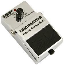 ISP Decimator pedal