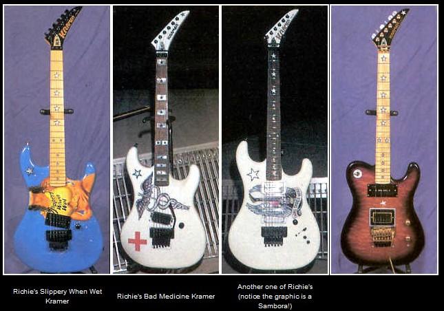 Kramer RS Signature Model (Gitar Richie Sambora) custom