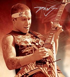 Spesifikasi ESP DJ600 V Dan Jacobs Signature (Gitar Gitaris Atreyu)