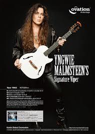 Spesifikasi Gitar Ovation Signature Yngwie Malmsteen