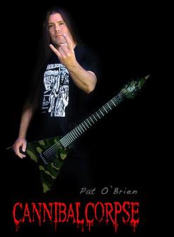Spesifikasi Gitar Ran Invader Pat O'Brien Signature (Gitar Canibal Corpse)