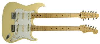 Yngwie Malmsteen Signature Stratocaster doubleneck