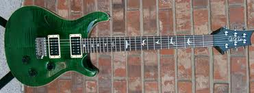 PRS Custom 24 Emerald Green Flame