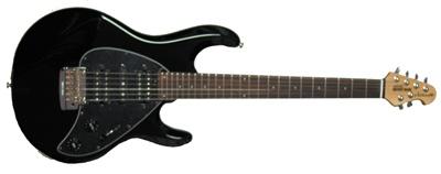 musicman silhouette black