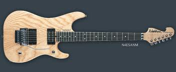 washburn n4 Swamp Ash Natural Matte