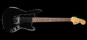 1978 Fender Vintage Bronco Electric Guitar Black