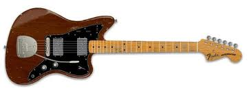 Fender Jazzmaster brown