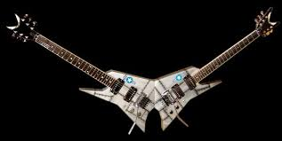 Michael Angelo Batio's Mach VII Jet Double Guitar