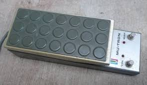 Mu-Tron volume wah wah pedal