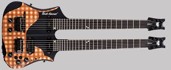 Rick Hanes Balawan Mini Double Neck Signature Series