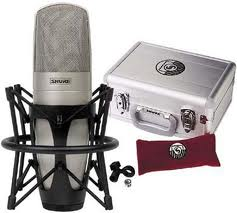 Shure KSM-32 microphones